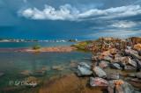 130.4 - Grand Marais: Approaching Storm - Southwest Side Of Harbor