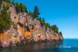 49.5 - Tettegouche:  Shovel Point Seen From Lake