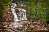 * 22.6 - Gooseberry Falls State Park:  Cedars Below Lower Falls