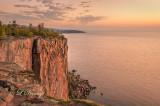 49.36 - Tettegouche:  Palisade Head At Dawn, Horizontal