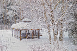 58.71 - Winter: Gazebo With Birches