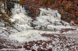 15.3 - Gooseberry: Winter Ice At Middle Falls