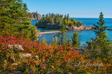 25.23 - Split Rock Lighthouse: Long View, Autumn Reds