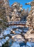 60.1 - Winter: Pattison Park, Bridge Over Black River