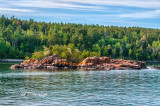 25.51 - Lake Superior: Rock Island