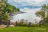 109.2 - Lake Superior Bluefin Bay, Spring Fog