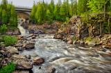 75.3 - Cross River, With Bridge