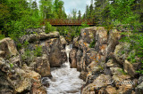 73 - Temperance River With Footbridge