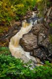 Lutsen:  Poplar River Waterfall