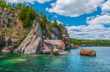 * 39.21 - Lake Superior Shoreline East Of Split Rock Lighthouse