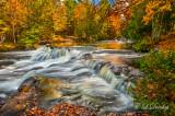 ** 90.2 - Bond Falls, Autumn Cascade