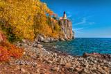 * 44.32 - Split Rock Lighthouse: Close View With Autumn Color