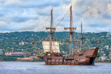 El Galeon Andalucia Along The Duluth Shore