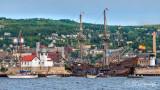 El Galeon Andalucia Entering Duluth Harbor