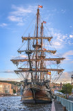 El Galeon Andalucia At Dock In Duluth