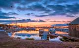 * 118 - Grand Marais Harbor Dawn