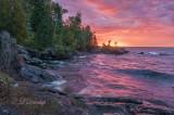 Temperance:  September Sunrise On Lake Superior