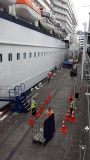 Celebrity Solstice getting ready for departure, Auckland NZ