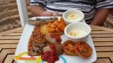 One of Warrens Cooked breakfasts..