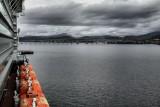 Arriving in Hobart, Tasmania, Australia