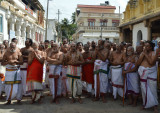 10_Waiting for perumal to come from Vahana mandapam.JPG