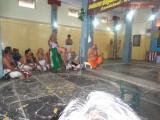 Vidwan Krishna Iyengar felicitating Sri VVR swami