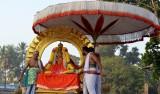 Sri Perarulalan Radha Sapthami uthsavam - Soorya Prabai ( Morning Session )