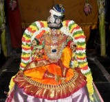 Morning - Sri vijayaragavan Nachiyar Thirukolam - Pallakku