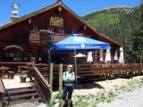 Bavarian beer at the foot of Wheeler Peak