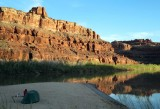 April 14 Kayaking the Colorado river on the Hayduke