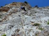 Climbing on Kalymnos