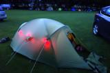 Hawes campsite in Wenslaydale