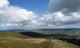 Ingleborough looking north