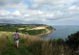 Whitby coastal walk near Cloughton