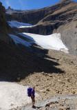 The remains of Glacier du Tallon