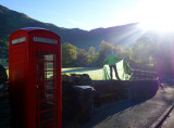 Part I Drying the tent in Patterdale after a frosty night