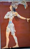 Minoan fresco Heraklion