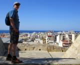 Heraklion - walking the venetian city walls