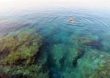 Beautiful swimming at Sfakia