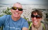 Athens on the return trip to Scotland