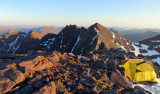 May 16 An Teallach high camp 1st unsuccessful attempt