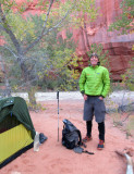 Oct 16 Utah Silver Falls-Choprock Loop: Choprock camp