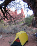 Oct 16 Utah Salt Creek canyon At park campsite 4