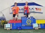 Sunday Biathlon Podium Photos
