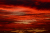 Deep Red Sunset Texture