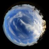 Circular Sky Shot