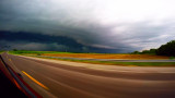 Gust Front from the Road