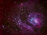 Messier 8 The Lagoon Nebulae