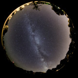 Circular Milky Way View