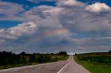 Rainbow Above Highway 136